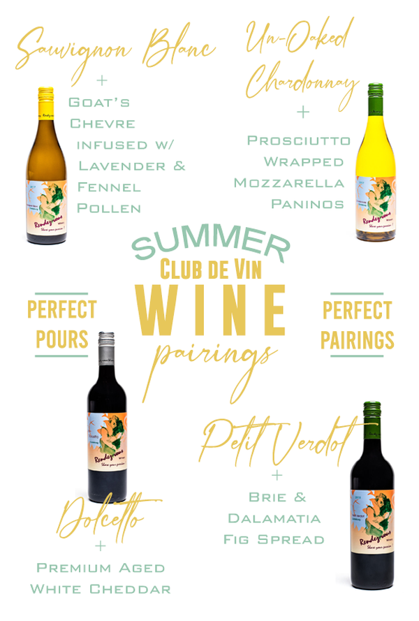 Summer Pick Up Pairing-Monday July 13